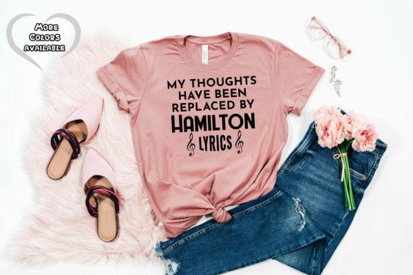 Hamilton Quote Shirt