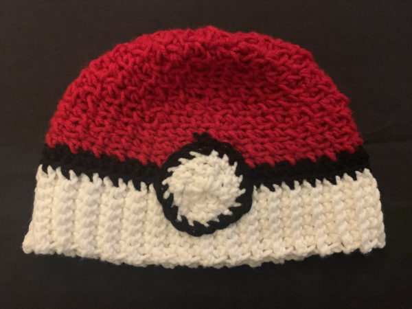 Pokemon inspired hats
