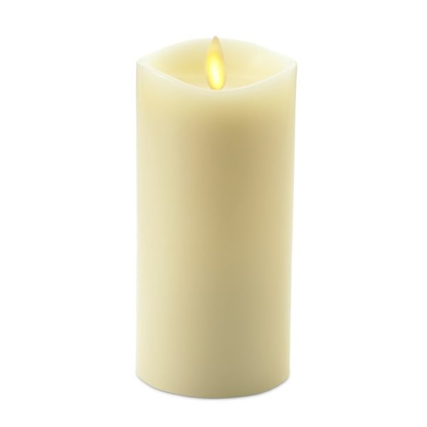 Ivory Flameless Wax Candle
