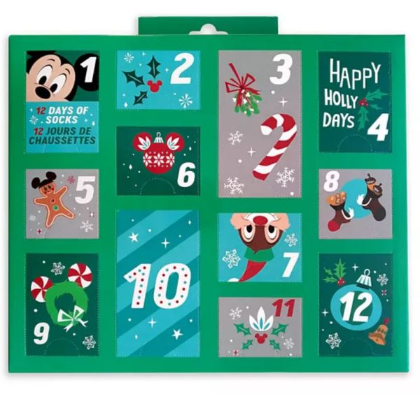 Holiday Advent Sock Calendar for Men