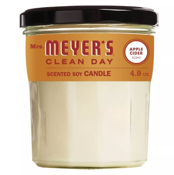 Mrs. Meyer's Clean Day Soy Candle - Apple Cider