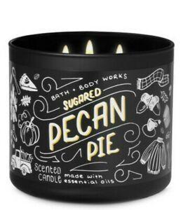 Bath & Body Works Sugared Pecan Pie 3-Wick