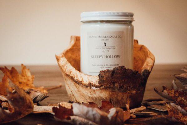 Rustic Smoke Candle Co. Sleepy Hollow