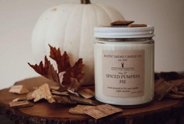 Rustic Smoke Candle Co. Spiced Pumpkin Pie
