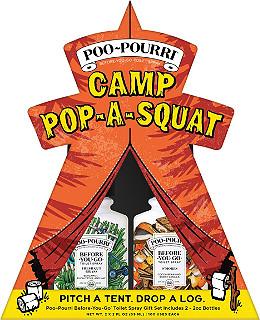 Camp Pop-A-Squat Gift Set
