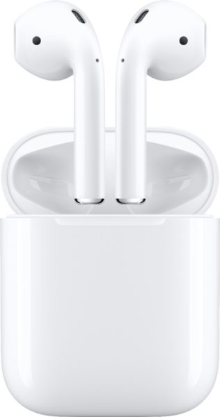 Apple - AirPods with Charging Case (Latest Model)