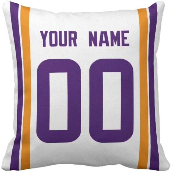 Personalized Custom Football Decorative Throw Pillow Cheap