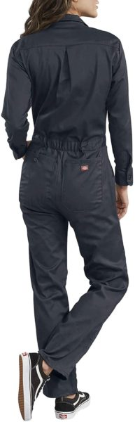 Dickies womens Long Sleeve Cotton Twill Coverall
