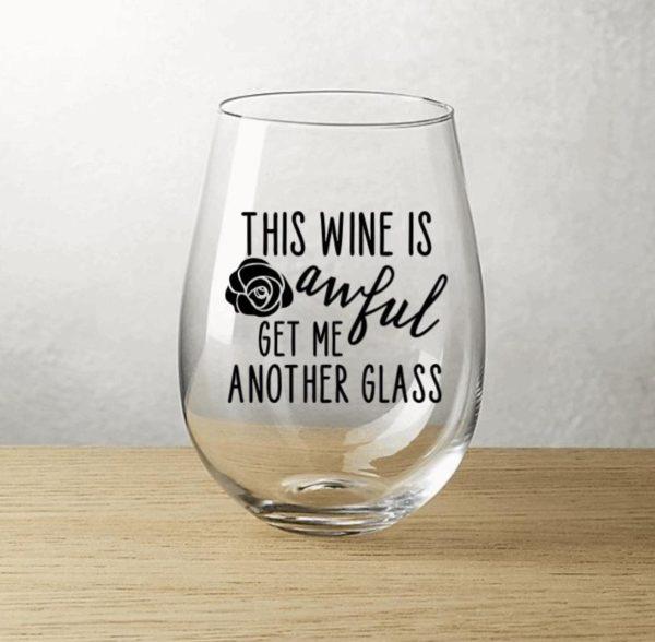 Moira Rose Wine Glass