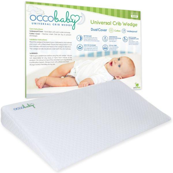 OCCObaby Universal Baby Crib Wedge