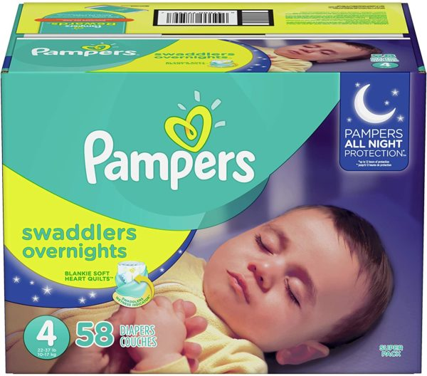 Pampers Overnight Diapers