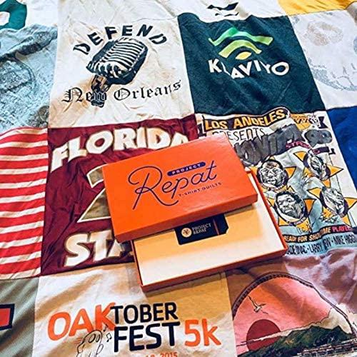 Project Repat T-Shirt Quilt