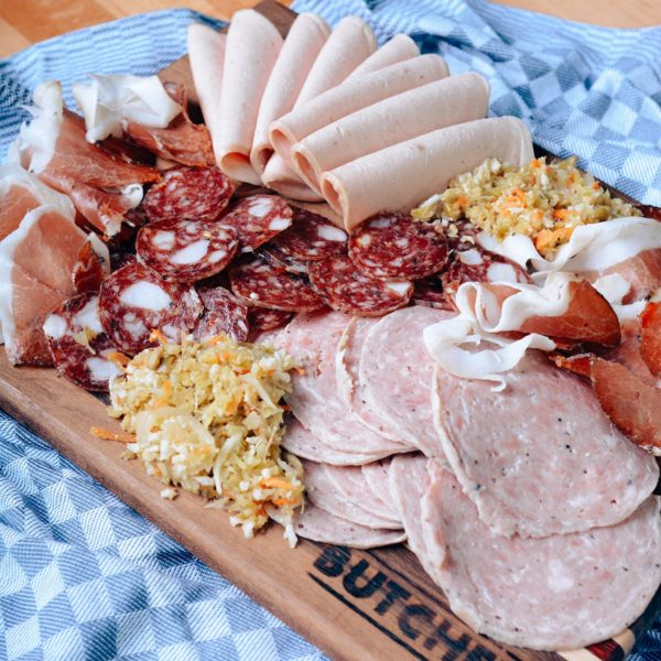 Butcher Charcuterie Box for 4