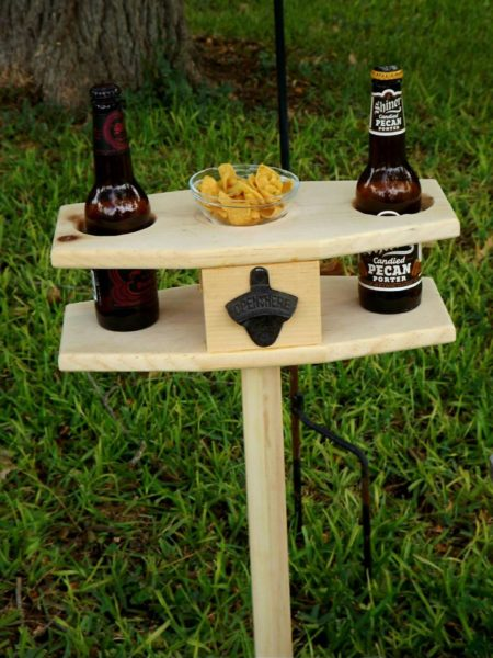 Outdoor Beer table snack table/collapsible/picnic