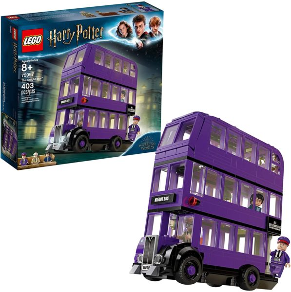 LEGO Prisoner of Azkaban Knight Bus Building Kit