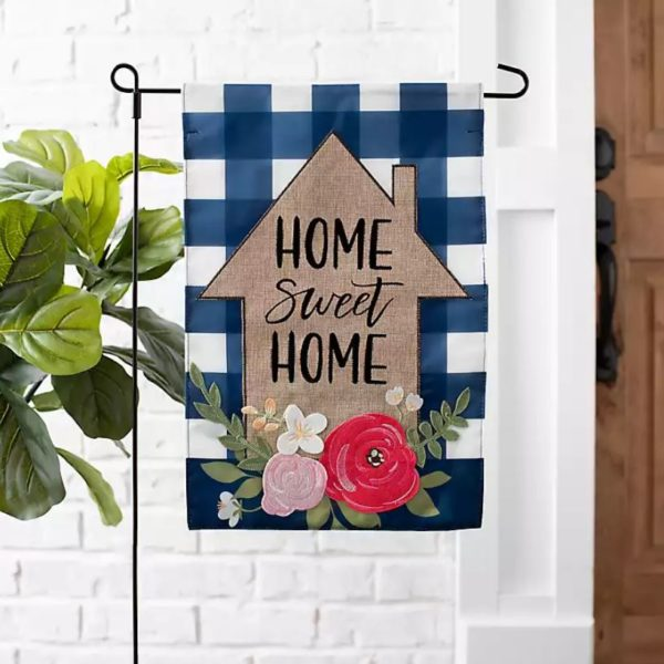 Home Sweet Home House Flag Set