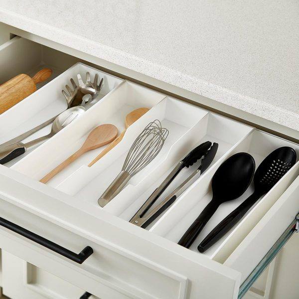 Expand-a-Drawer Utensil Tray