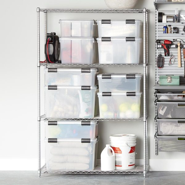 InterMetro Silver 4-Shelf Starter Unit