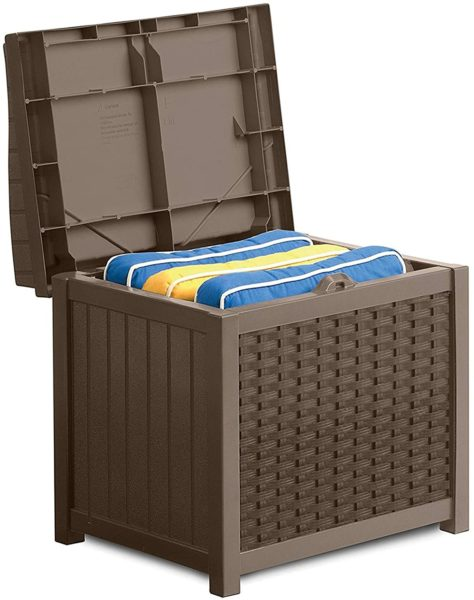 Suncast 22-Gallon Small Deck Box