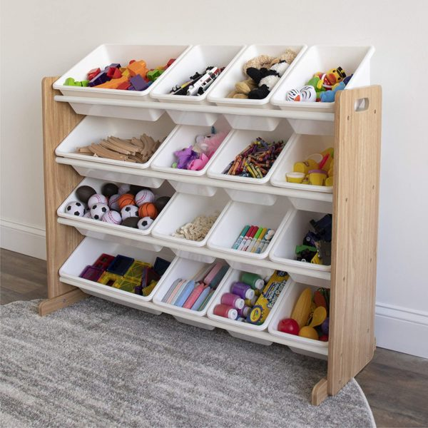 Humble Crew Supersized Wood Toy Storage Organizer