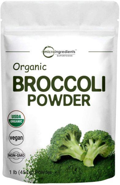 Microingredients Organic Broccoli Extract Powder