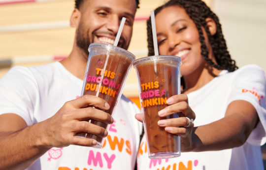 Say 'I Love You a Latte' With Dunkin's Coffee-Themed Wedding Collection