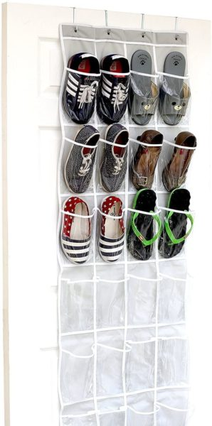 Over-the-Door Hanging Shoe Organizer