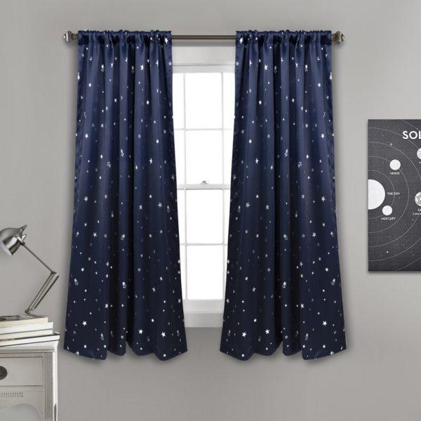 Isabelle & Max Actaeon Polka Dots Blackout Thermal Curtain Panels (Set of 2)