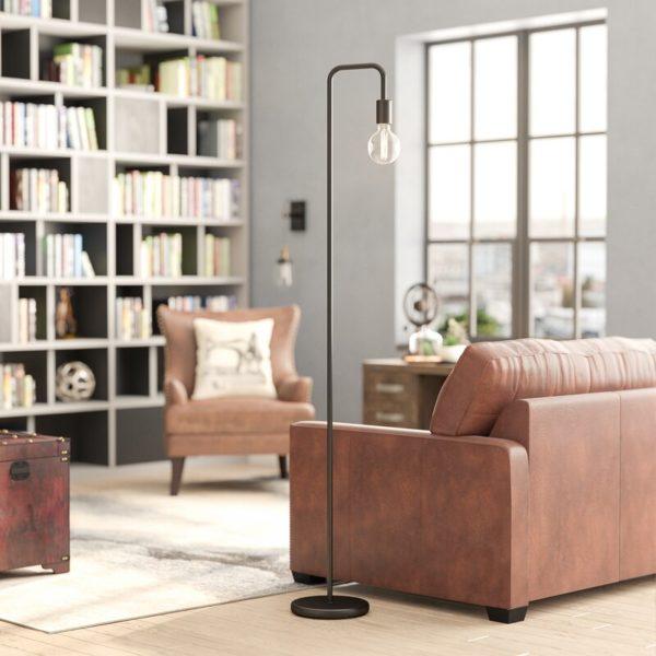 """Trent Austin Design Anarosa 70"""" Arched Floor Lamp"""
