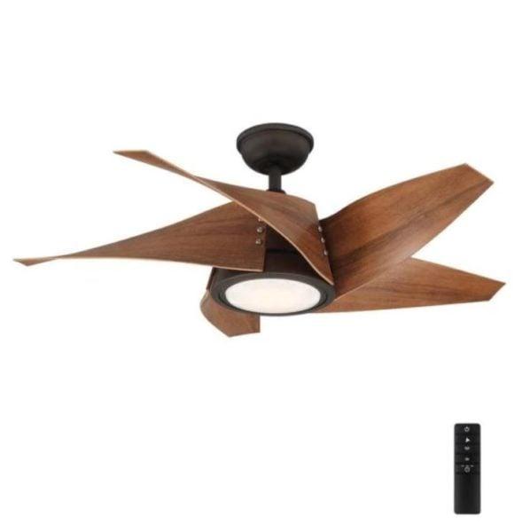 Home Decorators Collection Broughton 42 in. LED Espresso Bronze Ceiling Fan