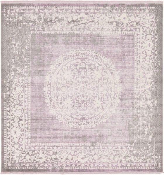 RugPal Classique Geometric Lavender Area Rug