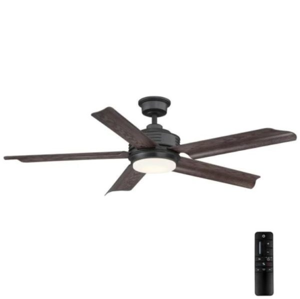 Home Decorators Collection Hansfield 56 in. Outdoor Natural Iron Ceiling Fan