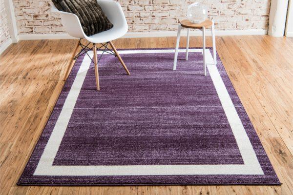 Andover Mills Merrie Purple Area Rug