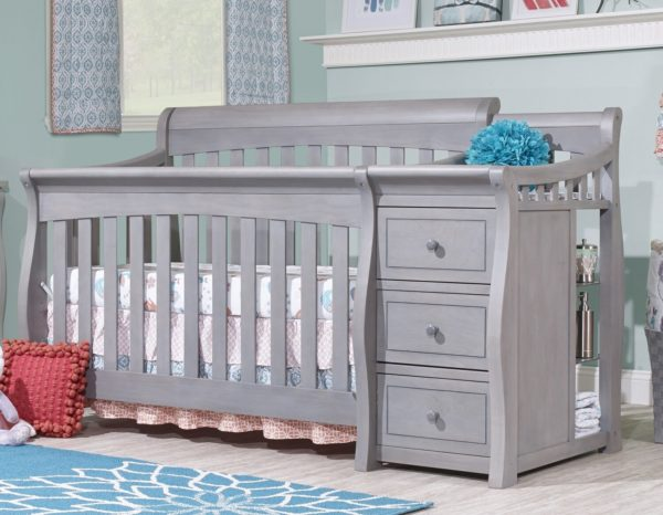 Sorelle Princeton 4-in-1 Convertible Crib and Changer
