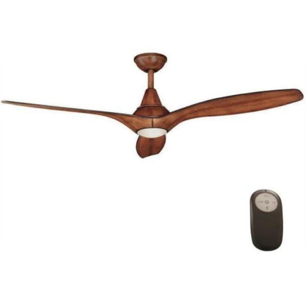 Tidal Breeze 56 in. Indoor Distressed Koa Ceiling Fan