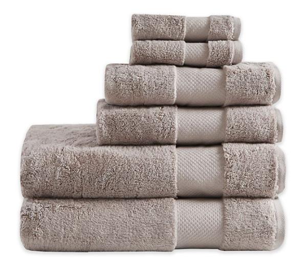 Madison Park Signature Turkish Cotton Bath Towels