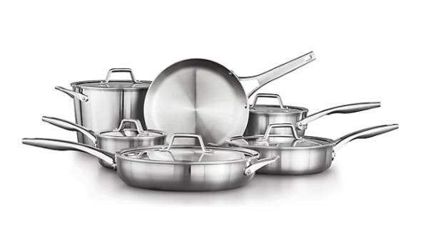 Calphalon Premier Stainless Steel Cookware Set