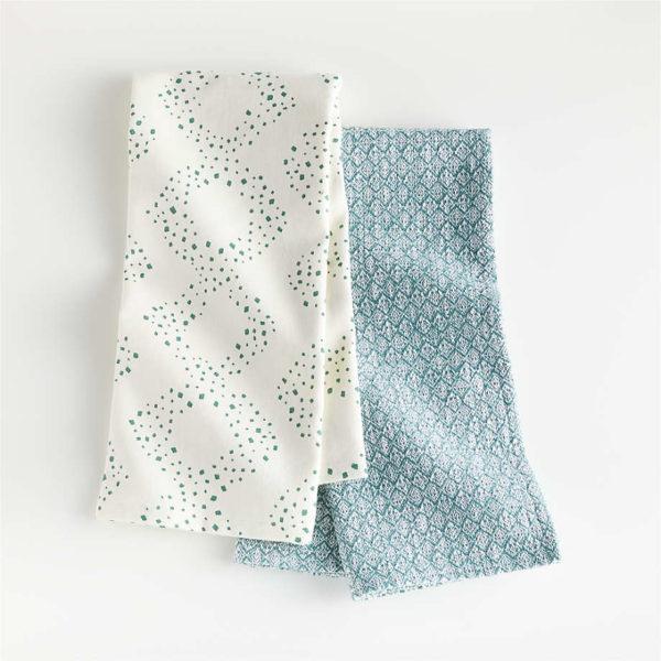 Crate & Barrel Dooley Dish Towels