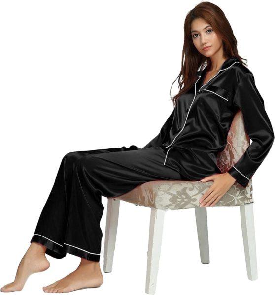 Silk Satin Pajamas Set