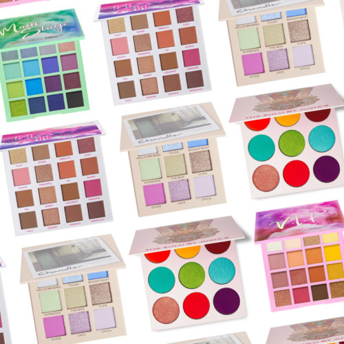 13 Affordable Eyeshadow Palettes We Absolutely Love