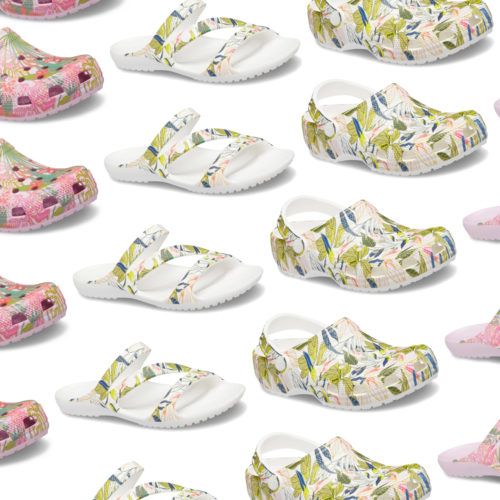 Vera Bradley Teamed Up With Crocs for a Line of Tropical-Themed Comfy Shoes
