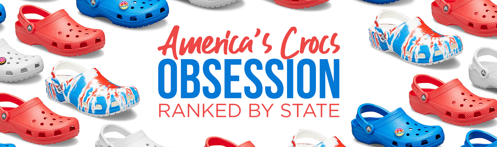 The Most Crocs-Obsessed U.S. States (Ranked)