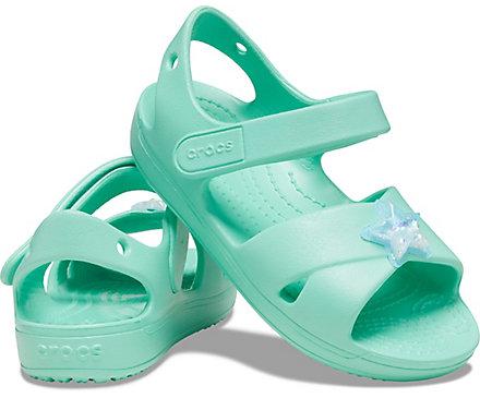 Kids Classic Cross-Strap Charm Sandal