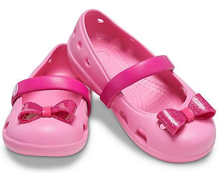 Kids' Crocs Keeley Embellished Flat