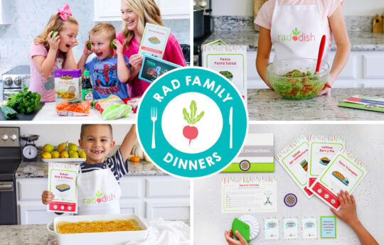 Raddish is the Kid-Friendly Cooking Box That Turns Your Kitchen Into a Culinary Classroom