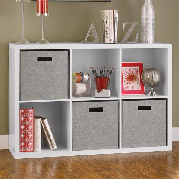White Cube Bookcase