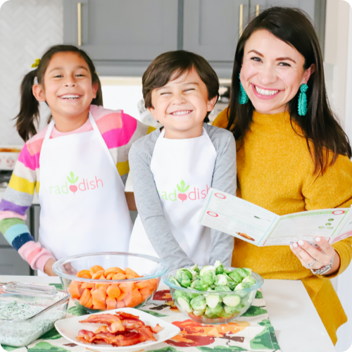 Raddish - A Cooking Club for Kids