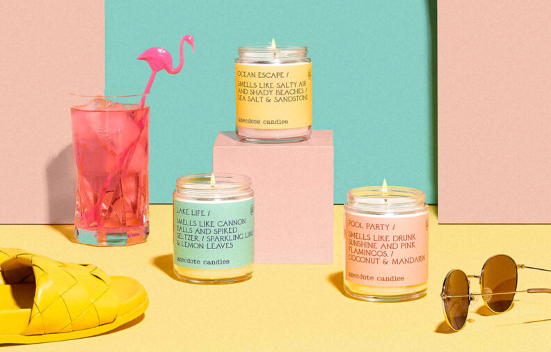 Anecdote Candles Turn Everyday Scents and Stories into Conversation Pieces