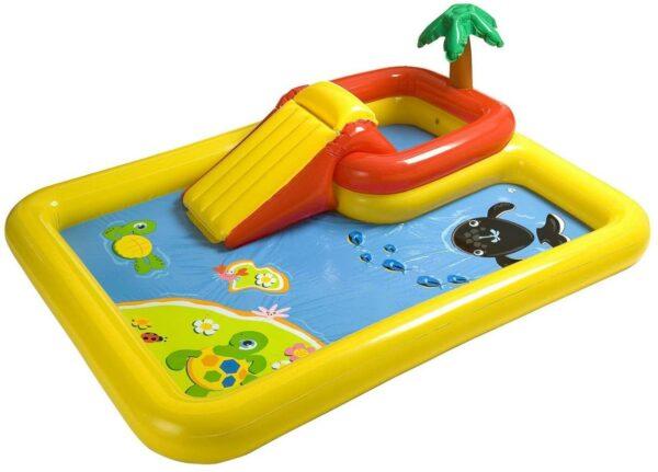 Outdoor Backyard Kiddie Pool and Game Set