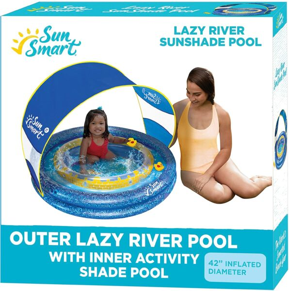 SunSmart Lazy River Kiddie Pool